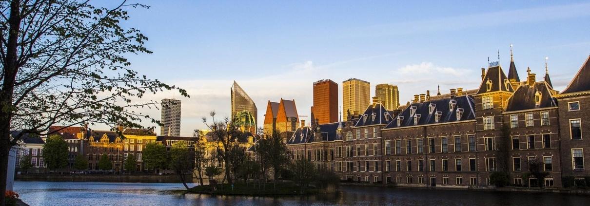 The Hague Buitenhof morning