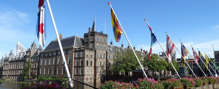 Hofvijver flags of the world