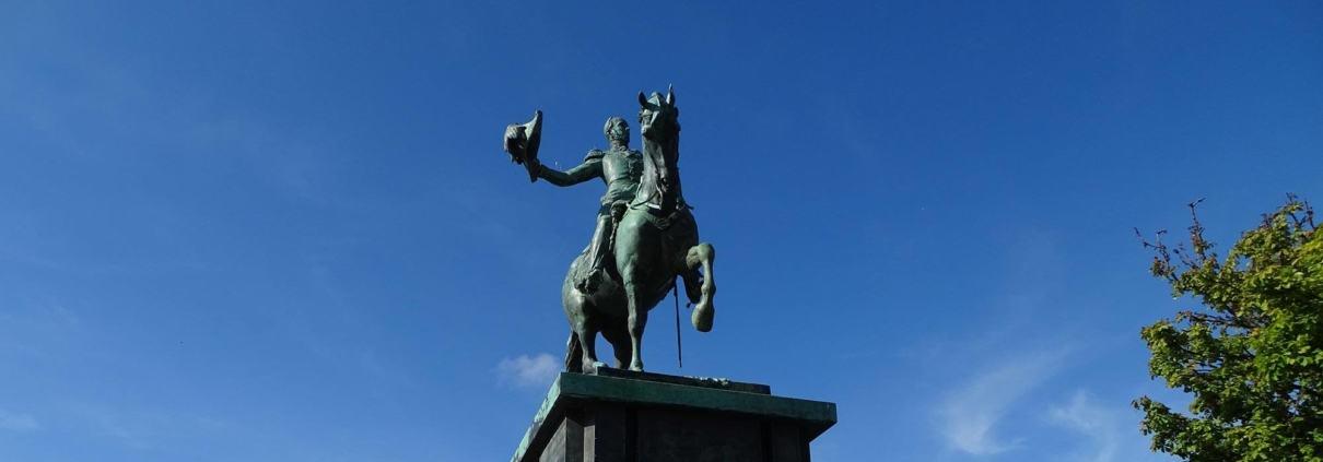 King Willem - statue