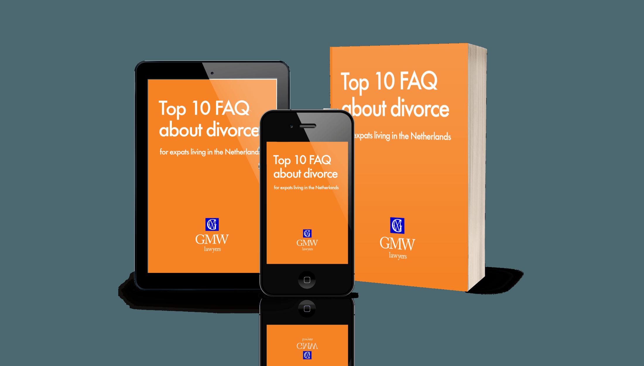 Top 10 FAQ about divorce white paper