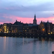 Sunset in The Hague