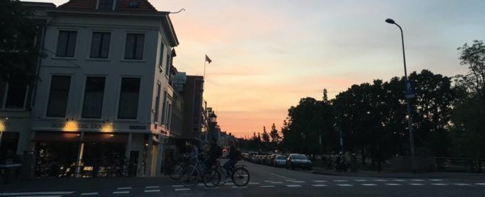 Sunset Den Haag
