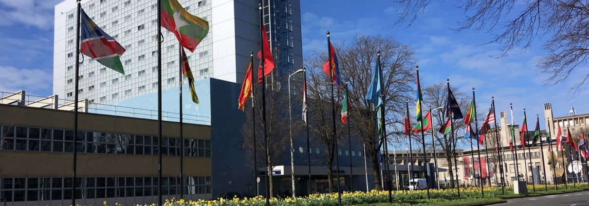 World Forum flags