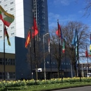 World Forum flags